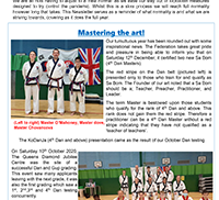Path to 4th Dan - SHK Newsletter